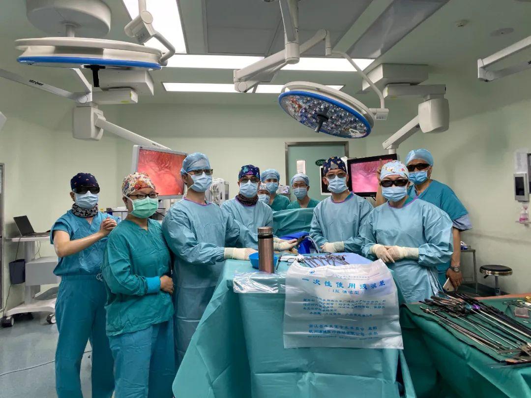 手术成功后,他感谢第一健康医生助他回归健康人生